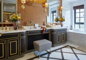 欧式金边浴室柜美图欣赏