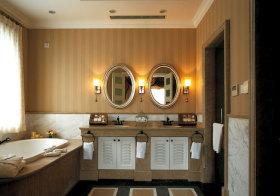 美式豪华浴室柜欣赏