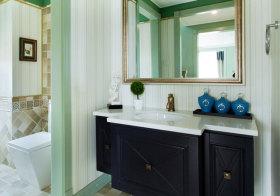 美式凹凸浴室柜欣赏