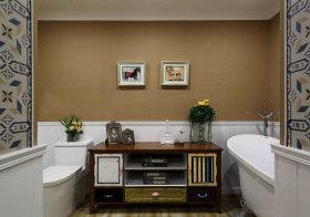 混搭美丽浴室柜设计