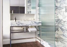 混搭大理石浴室柜欣赏