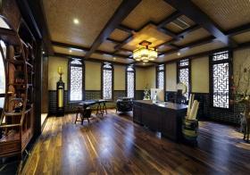 别墅中式书房美图