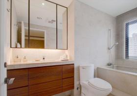 极简浴室柜设计