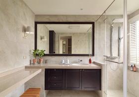 宜家简约浴室柜设计