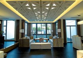 现代客厅吊顶设计