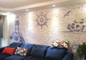 现代航海背景墙欣赏