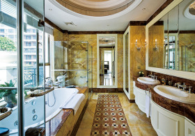 高贵欧式浴室设计图