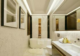 优雅现代卫生间设计