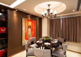 圆形中式餐厅美图欣赏