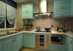 清新田园厨房装修图