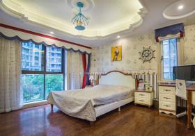 白色地中海卧室设计效果