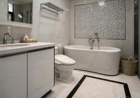 艺术极简浴室装修设计