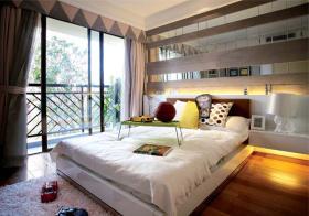 阳光简约卧室装修实拍