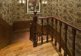 复古欧式风格楼梯装修图片