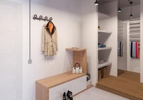 和风日式风格鞋柜装修图片