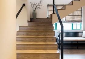 时尚中式风格楼梯装修图片