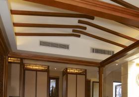 中式原木吊顶美图欣赏
