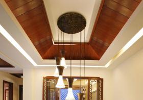 复古中式吊顶美图