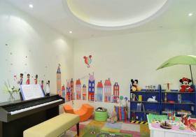 多彩简约儿童房欣赏