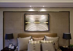 古典卧室背景板设计