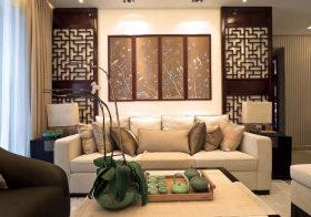 中式沙发背景墙欣赏