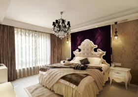 优雅古典卧室背景板欣赏