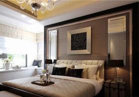 时代卧室背景板设计