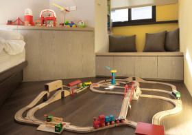 原木现代儿童房设计