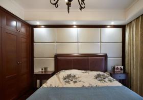 新古典卧室背景板设计