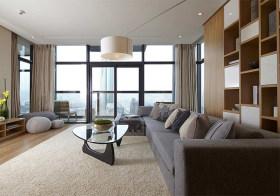 明亮简约客厅装修设计