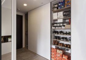 现代风鞋柜装修图片