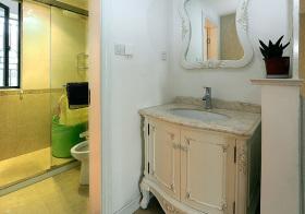 典雅简欧卫生间设计欣赏