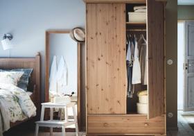 家居北欧风格衣柜装修图片