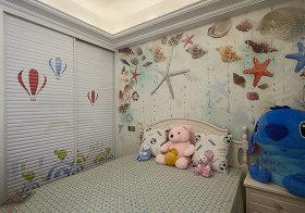 海底世界简约儿童房欣赏