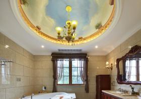 艺术欧式浴室吊顶欣赏