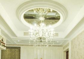 华丽欧式餐厅吊顶设计