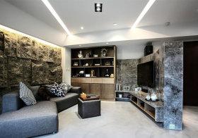 石质现代客厅设计效果