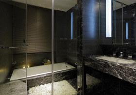 大理石现代浴室装修设计