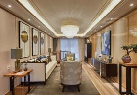 雅致新中式客厅装修实拍