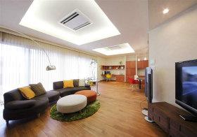 温馨简约客厅装修设计