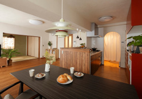 木质简约餐厅装饰效果