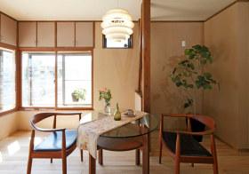 小巧日式餐厅布置效果
