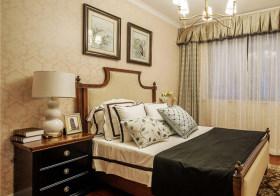 典雅美式卧室装修效果