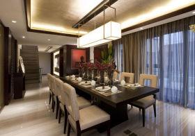 流金现代餐厅装修设计
