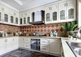 素白田园厨房装修美图欣赏