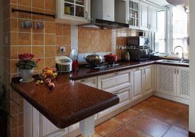 乡村风美式厨房设计效果