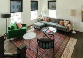 个性混搭客厅设计欣赏