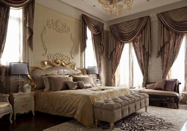 浪漫欧式卧室设计效果图片