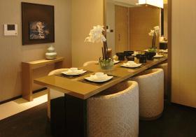 港式现代餐厅设计效果