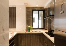光感现代厨房美图欣赏